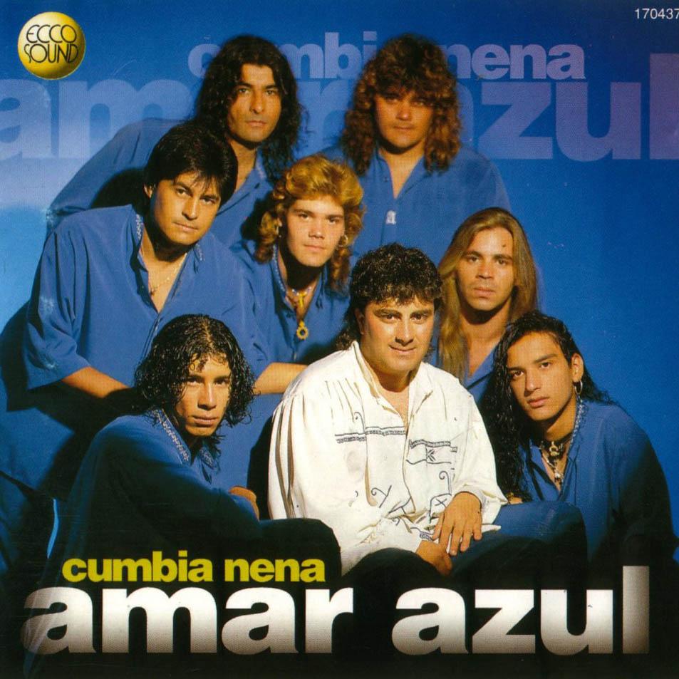 En 1998 Pablo Lescano, actual líder de Damas Gratis, tocaba los teclados enel disco Cumbia Nena de Amar Azul.