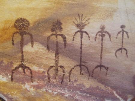 Representación del primer equipo del clan más importante de la isla: el Bó-Ká