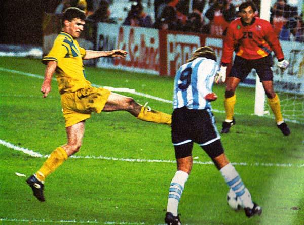 Nota de LRF!: Camisetón aussie el de 1993/94