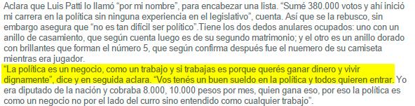 """Las-Cosas-del-Decir---Periodismo-Zonal-Independiente---Rattín--""""No-es-tan-difícil-ser-político""""---Perfiles---Perfiles"""
