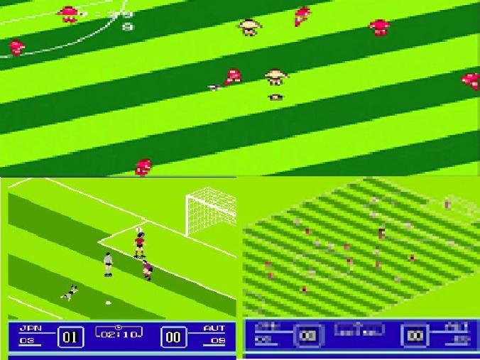 Arriba, gaming del Goal 1. Abajo, gaming del Goal 2.