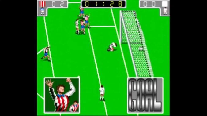 Cosas que sólo ocurren en los videojuegos. Atlético de Madrid ganadole al Real.