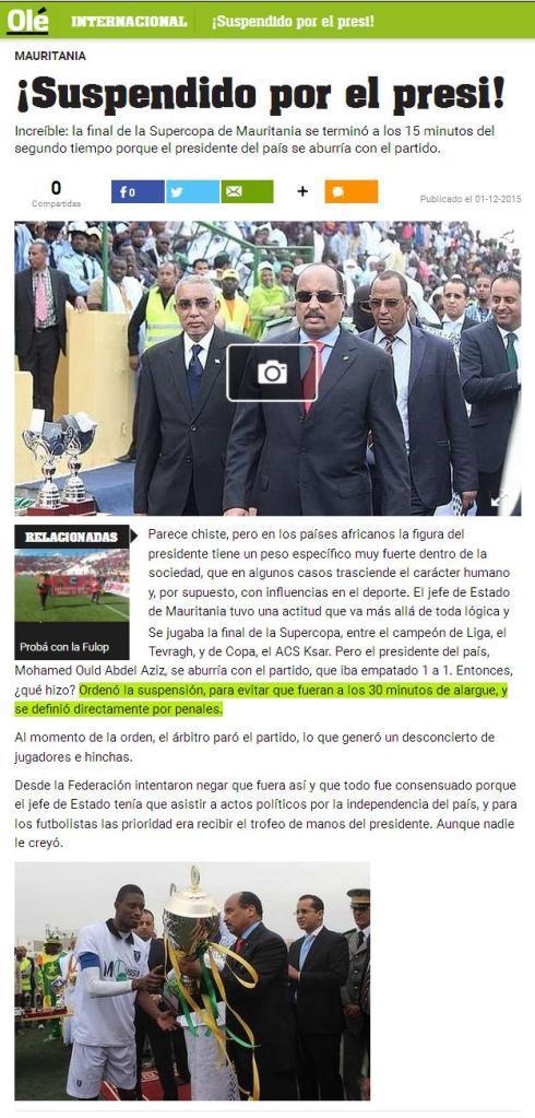 """Toda la onda la de Mohamed entregando la Supercopa a un moreno random, mientras dice """"metele papu que no llego a ver el bailando"""" (?)"""