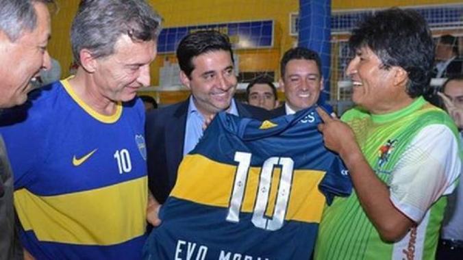 Macri-Angelici-Evo-Morales