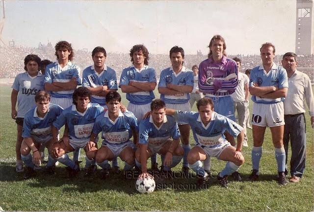 El Belgrano de la Copa Centenario fue el tercero. Hasta ese momento su mejor resultado en Primera.