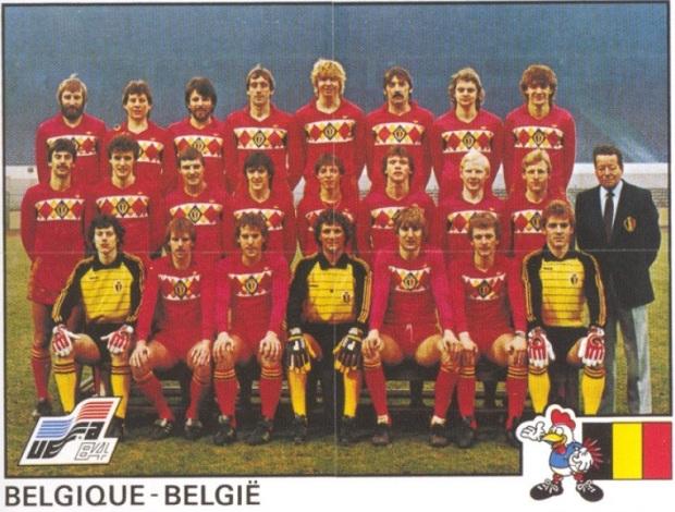 00-Equipe Panini Belgique 1984
