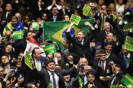 BRAZIL-IMPEACHMENT-ROUSSEFF-VOTE