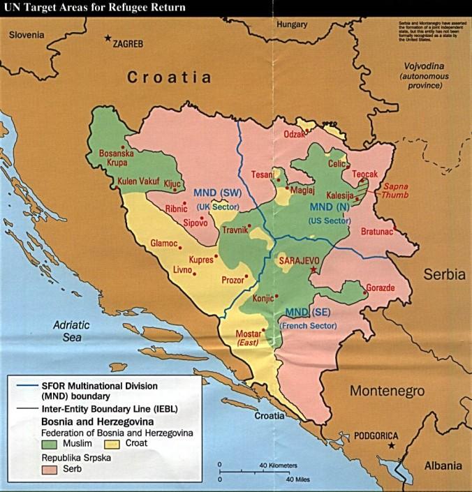 Bosnia en 1997