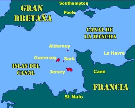 La verdad, está más cerca de Francia. Siempre lo mismo estos piratas (?)