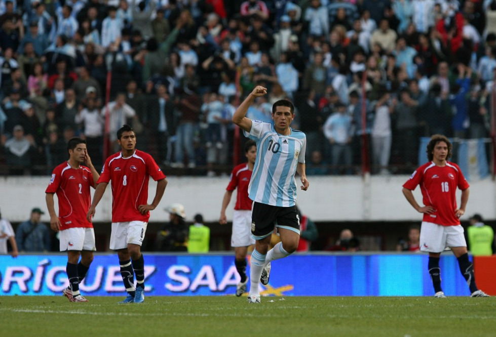 Una imagen que nos hubiera gustado ver en las últimas dos finales de la Copa América...