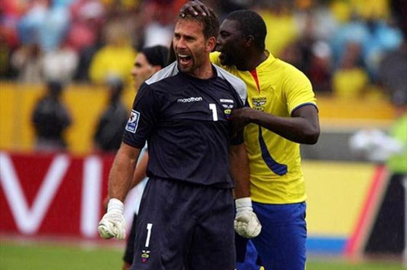 Adivinen a qué jugador argentino le tapó el penal Elizaga...