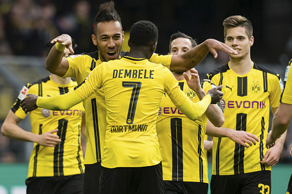 Borussia Dortmund Bayer Leverkusen Liga Alemana 2017