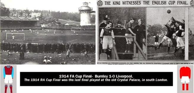 burnley 1914 fa cup vs liverpool